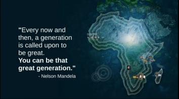 Africa Ted Mandela Quote