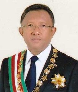 Malagasy President Hery RAJAONARIMAMPIANINA Source: www.presidence.gov.mg/