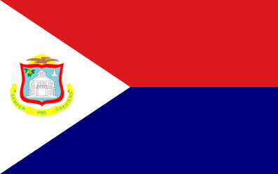 The Flag of Sint Marteen